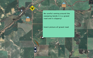 SpaceDrafting directions to a remote location