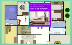 How to use SpaceDraft to create a plan for cleaning duties around the house