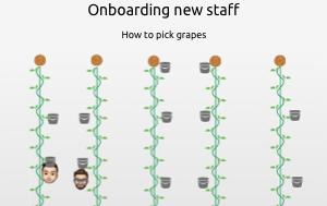 Onboarding seasonal staff