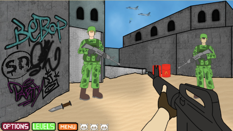Video Game: First Person Shooter